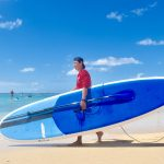 Stand Up paddling with travel2change