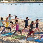 Yoga and Volunteering.