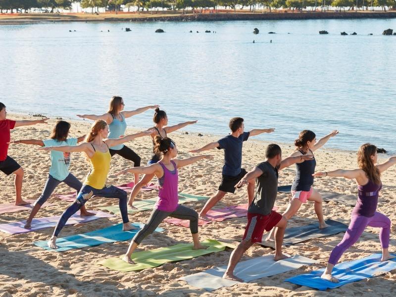 Yoga And Volunteering