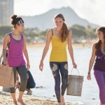 Yoga and Beach Clean Up