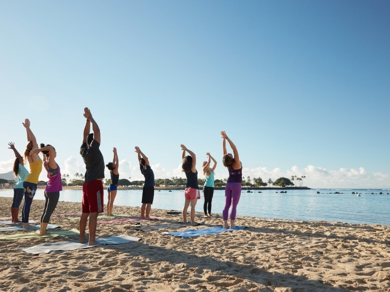 Yoga At The Beach With Travel2change