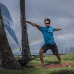 Yoga at the Beach in Honolulu