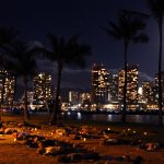 Night Yoga Honolulu Hawaii
