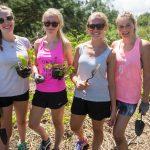 Volunteering with friends in Hawaii