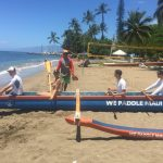 Learn how to Paddle a paddle a Hawaiian Outrigger Canoe.