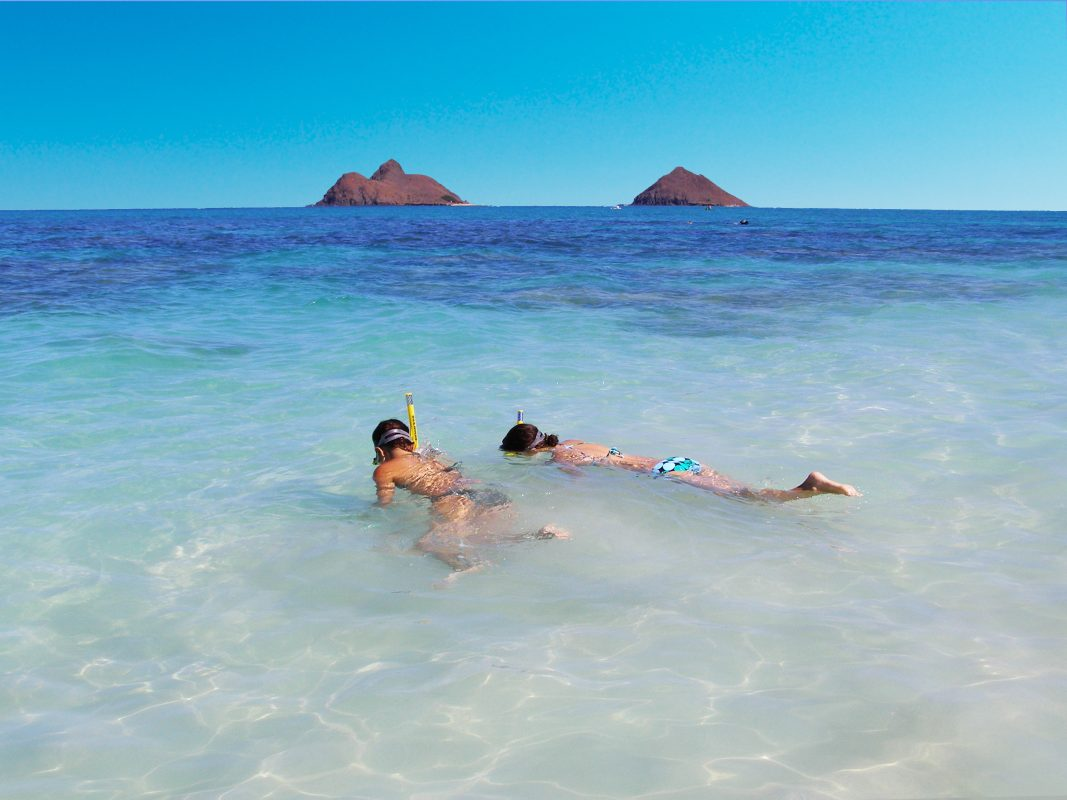 Ride The Bike And Help Clean Kailua Beach Travel2change