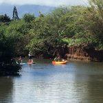 paddling Oahu