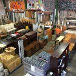 Help in the storage. Volunteer for Honolulu Habitat for Humanity.